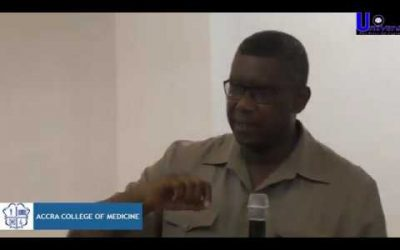 ACM 17th Public Lecture: Training The 5-Star Doctor Of Excellence In The 21st Century pt2: Dr.Eugene Nyarko