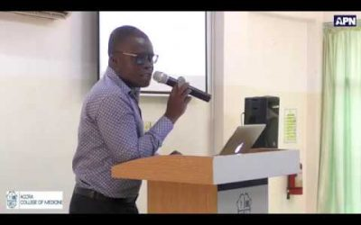 ACM 18th Public Lecture: Cockroaches: Gate-Crashers With Dangerous Ammunition, By Prof. Eric Sampane-Donkor 25th Sept., 2019