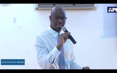 ACM 19th Public Lecture: The Fourth Industrial Revolution And Its Impact On The Delivery Of Healthcare In Ghana