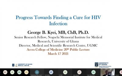 ACM 20th Public Lecture: Progress Towards Finding A Cure For HIV Infection